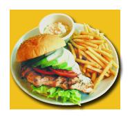 カリフォルニア チキン バーガー